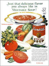 Sticker mural  Campbell Soup (anglais)