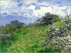 Tableau en PVC  Printemps - Claude Monet