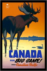 Sticker mural  Canada - big game ! - Travel Collection