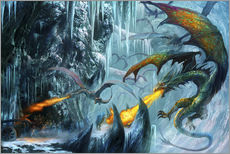 Sticker mural  The cave - Dragon Chronicles