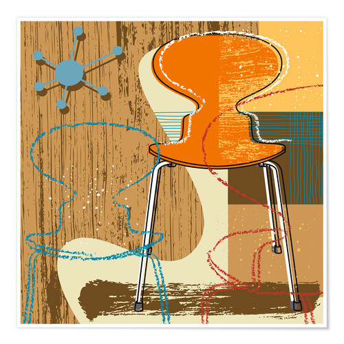 Poster Chaise Ant