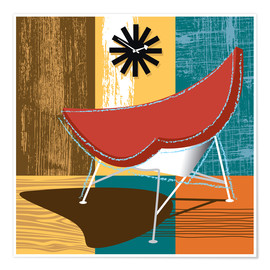 Poster Lounge Chair II