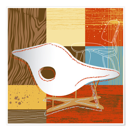 Poster Lounge Chair IV