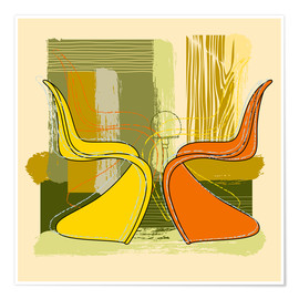 Poster Panton Chair 01