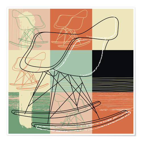 Poster Lounge Chair VII