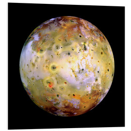Tableau en PVC  Io, satellite naturel de Jupiter