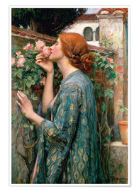 Poster  L'âme de la Rose - John William Waterhouse
