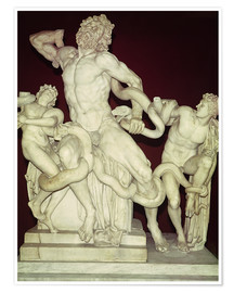 Poster  Groupe du Laocoon - Greek
