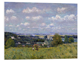 Tableau en PVC  The Valley of the Seine at Saint-Cloud - Alfred Sisley