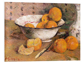 Tableau en PVC  Nature morte aux oranges - Paul Gauguin