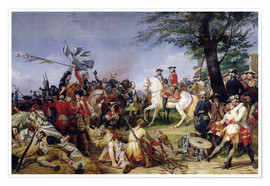 Poster The Battle of Fontenoy