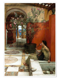Poster  Le laurier-rose - Lawrence Alma-Tadema
