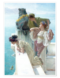 Poster  Une position avantageuse - Lawrence Alma-Tadema