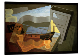 Tableau en verre acrylique  View of the Bay - Juan Gris