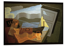 Tableau en PVC  View of the Bay - Juan Gris