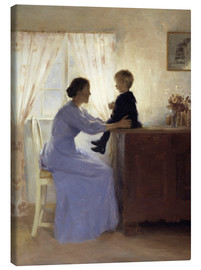 Tableau sur toile  Mother and Child - Peter Vilhelm Ilsted