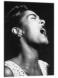 Tableau en aluminium  Billie Holiday