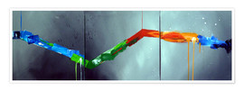 Poster Colorful stripes 2