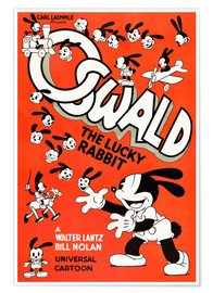 Poster  Oswald le lapin chanceux (anglais)