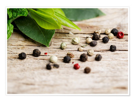 Poster Herbes aromatiques 07