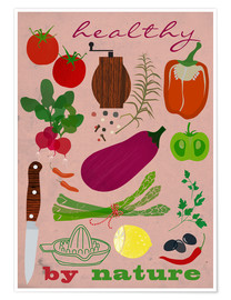Poster Healthy by nature II