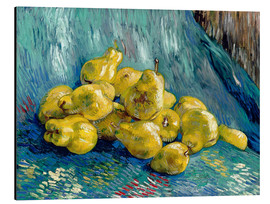Tableau en aluminium  Nature morte aux coings - Vincent van Gogh