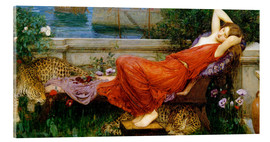 Tableau en verre acrylique  Ariane - John William Waterhouse