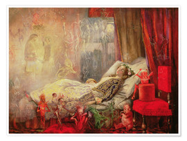 Poster  The Stuff that Dreams are Made Of - John Anster Fitzgerald