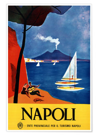 Poster  Naples, Italie - Travel Collection