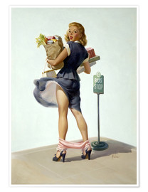 Poster  Oups ! - Art Frahm