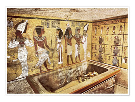 Poster  Grave of Tutankhamun in the Valley of the Kings