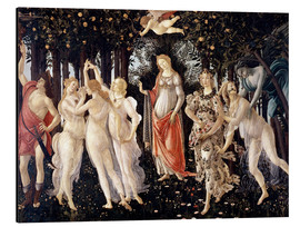 Tableau en aluminium  Le Printemps - Sandro Botticelli