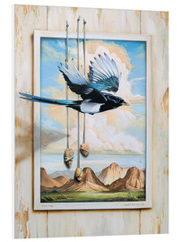 Tableau en PVC  FREE BIRD - Georg Huber