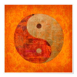 Poster  Yin et yang - Andrea Haase
