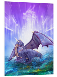 Tableau en PVC  Dragon Energy - Dolphins DreamDesign