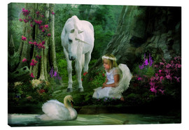 Tableau sur toile  Angel Wishes - Selina Morgan