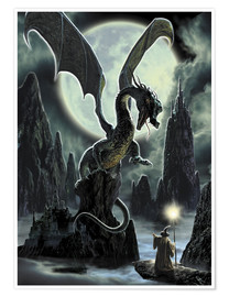 Poster  Dragons rock - Dragon Chronicles