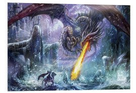 Tableau en PVC  L'attaque du dragon - Dragon Chronicles