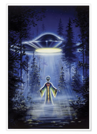 Poster  Visitors - The arrival - Area 51