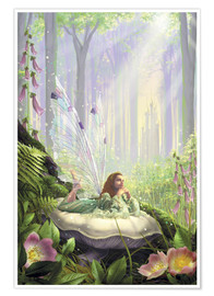 Poster  Wood fairy - Garry Walton