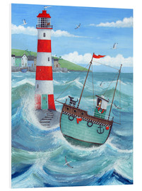 Tableau en PVC  Phare - Peter Adderley