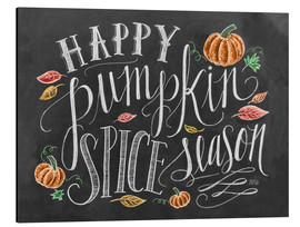 Tableau en aluminium  Happy Pumpkin Spice Season - Lily & Val