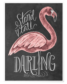 Poster  Stand Tall, Darling - Lily & Val