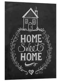 Tableau en PVC  Home Sweet Home - Lily & Val
