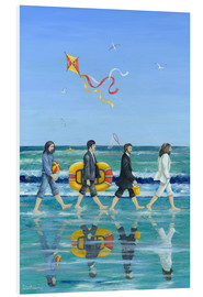 Tableau en PVC  Plage d'Abbey Road - Peter Adderley