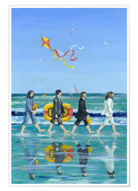 Poster  Plage d'Abbey Road - Peter Adderley