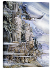 Tableau sur toile  The three watchmen - Jody Bergsma