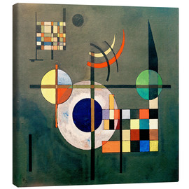 Tableau sur toile  Contrepoids - Wassily Kandinsky