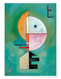 Poster  Vers le haut - Wassily Kandinsky