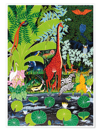 Poster  Faune sauvage - Issa